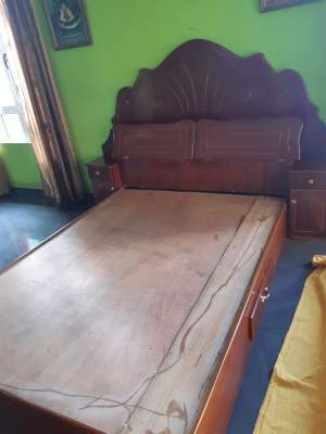 double bed, fair condition, for sale. - Bedroom Furnitures on Aster Vender