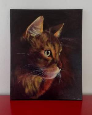 Catlovers painting - Paintings on Aster Vender