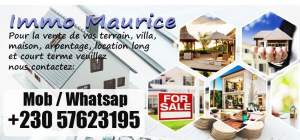 IMMO MAURICE APARTMENT FOR SALE IN FLIC EN FLAC  - Apartments on Aster Vender