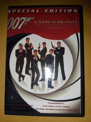 DVD - James Bond Collection Vol 1 - All electronics products on Aster Vender