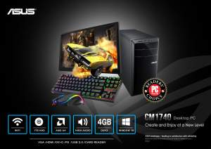 Asus Essentio CM1740 - All Informatics Products on Aster Vender