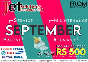 Repairs & Maintenance of Printers or Computers @Rs 500 only - All Informatics Products on Aster Vender