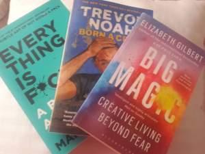3 Motivational books - Self help books on Aster Vender