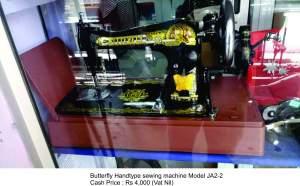 Butterfly Handtype Machine Model JA2-2