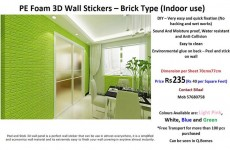 3D Wall Stickers - Brick Type - Interior Decor on Aster Vender