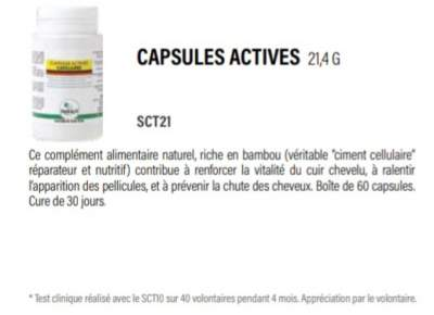 Capsules Actives - Hair treatment on Aster Vender