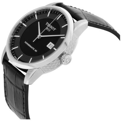Tissot Luxury Automatic Movement Black Dial Men's Watch T0864071605100 - Watches on Aster Vender