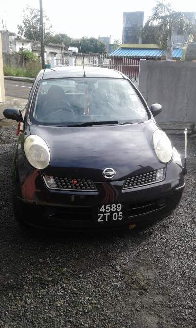 A vendre Nissan March annee 2005 - Family Cars on Aster Vender