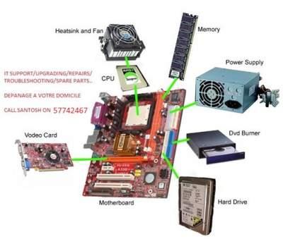 Depanage Ordinateur a votre Domicile  - Computer repairs on Aster Vender