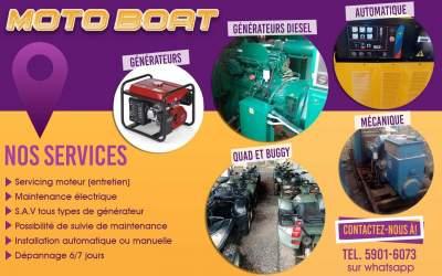 Maintenance générateur  - Home repairs & installation on Aster Vender