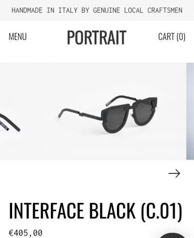 Original PORTRAIT Art-inspired sunglasses - Eyewear on Aster Vender
