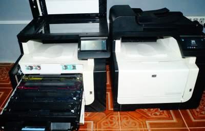 2 HP LaserJet Pro CM1415fnw - ( Color Multifunction Printer ) - Laser printer on Aster Vender