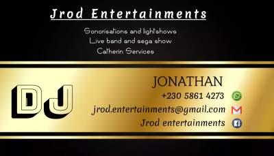 Jrod Entertainments  - Entertainment on Aster Vender