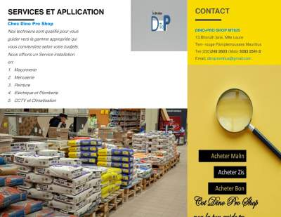 Vente des materiaux pour construction et renovation - Other building materials on Aster Vender