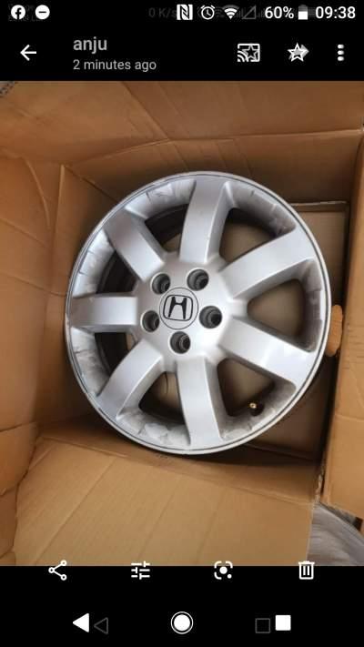 Jantes honda CRV 5×114 - Spare Parts on Aster Vender