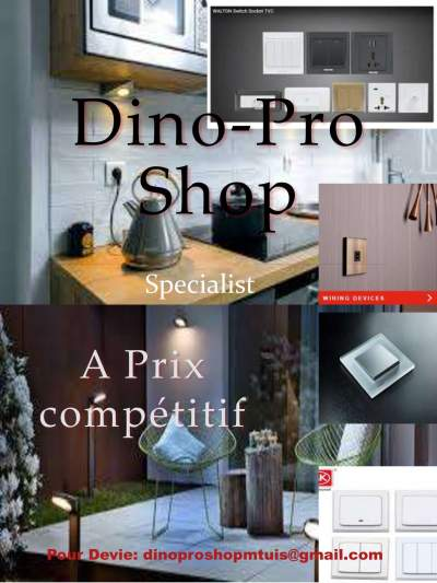 DINO PRO SHOP M&E - Home repairs & installation on Aster Vender