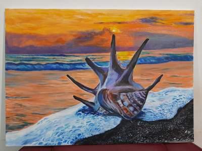 Painting - Paintings on Aster Vender