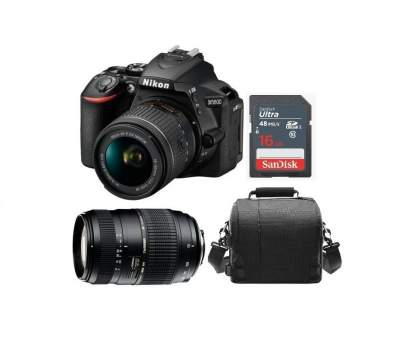 Nikon D5600 Kit (18-55 + 70-300) - All electronics products on Aster Vender