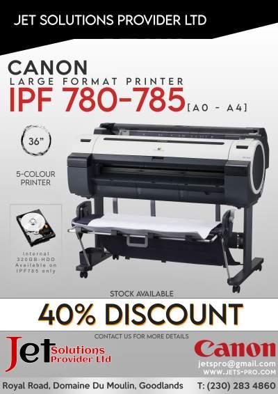 Canon imagePROGRAF iPF780 - iPF785 - Inkjet printer on Aster Vender