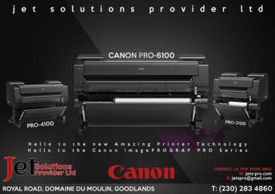 Canon imagePROGRAF Pro series - Inkjet printer on Aster Vender