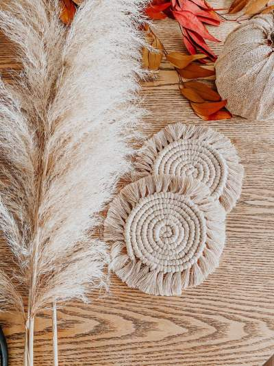Macrame Coasters - Other Crafts on Aster Vender