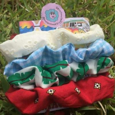 Pack of 4 summer scrunchies - Other Crafts on Aster Vender