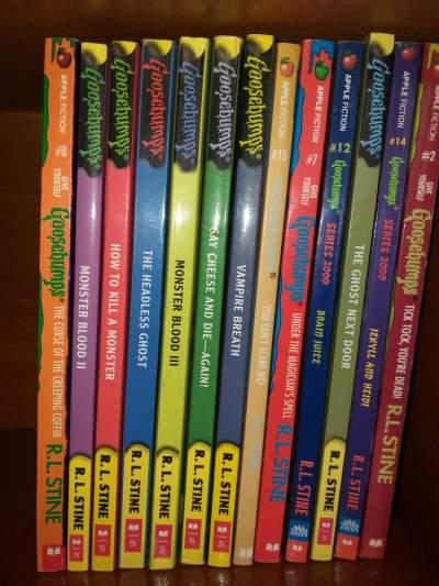 Goosebumps - Children's books on Aster Vender