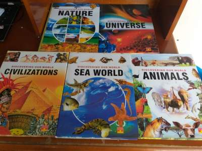 DISCOVERING OUR WORLD - Children's books on Aster Vender