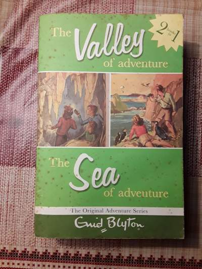 ENID BLYTON : The Valley / The Sea of Adventures - Fictional books on Aster Vender