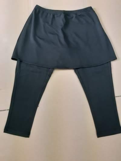 Ladies yoga legging ( 3/4 ) with top skirt  - Pants & Leggings (Women) on Aster Vender