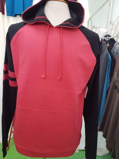 Man's long slvs hoodies from Rs 100 to 450.