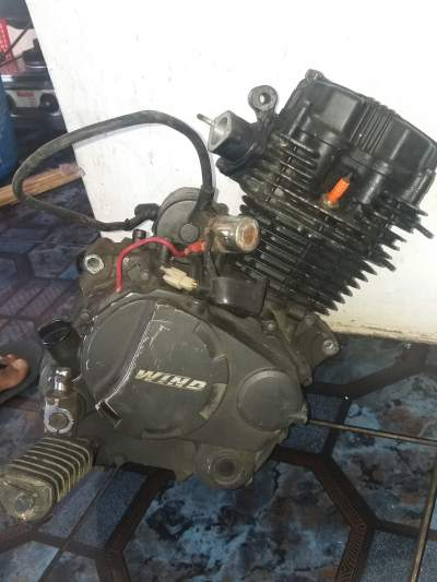 Wind engine motor 125cc - Sports Bike on Aster Vender