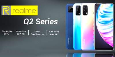 Realme Q2 48MP 128GB ROM Fast Charging - Android Phones on Aster Vender