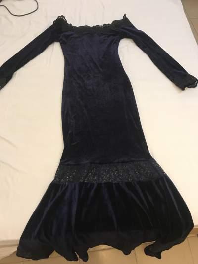Navy Blue Swade Dress - Dresses (Women) on Aster Vender