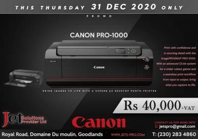 Canon imagePROGRAF Pro-1000 - Inkjet printer on Aster Vender