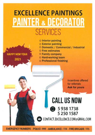 PAINTING and DECORATING - Other services on Aster Vender