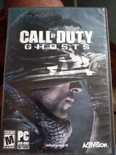 Call of duty advanced warfare and call of duty ghost PC - All Informatics Products on Aster Vender