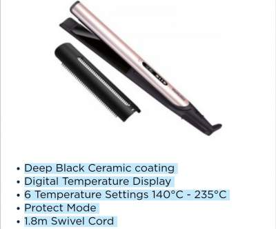Babyliss ST460E Hair straightener with comb - Other Hair Care Tools on Aster Vender