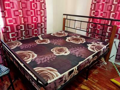 Bed 5X6 ft with mattress - Bedroom Furnitures on Aster Vender