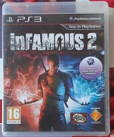 Infamous 2  - PlayStation 3 Games on Aster Vender