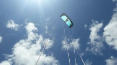 Kite sail 9m freestyke with bar - Water sports on Aster Vender