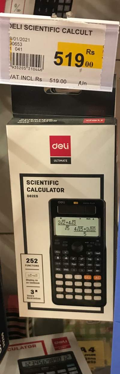 Deli Calculator Brand New  - All electronics products on Aster Vender