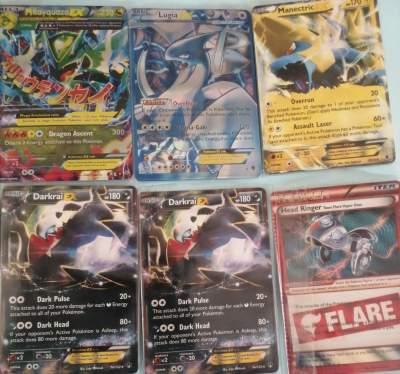 Rare pokémon cards  - Card games on Aster Vender