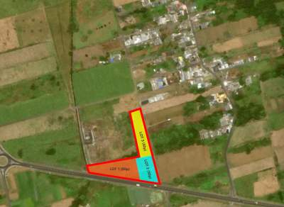 Agricultural land for sale, situated on the Saint Julien D'hotman bypa - Land on Aster Vender