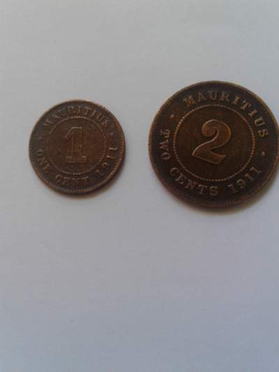 2 pieces 1911 - Coins on Aster Vender
