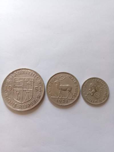 3 pieces 1951 - Coins on Aster Vender