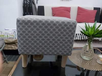 Footrest pouf - Living room sets on Aster Vender