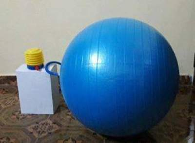 yoga ball with pump - Fitness & gym equipment on Aster Vender