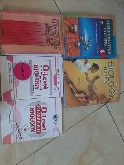Books for Secondary students  - Primary school on Aster Vender