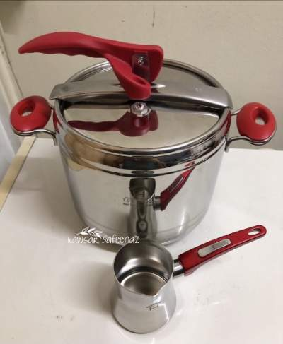 Home classic Pressure Cooker 7lts + gifts - Kitchen appliances on Aster Vender